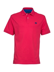 Raging Bull New Signature Polo Shirt Pink