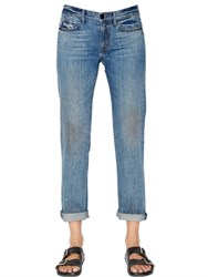 Helmut Lang Relaxed Fit Cotton Denim Jeans