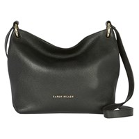 Karen Millen Soft Leather Bag Black