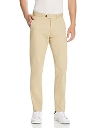 Todd Snyder Twill Straight Fit Chino Pants Khaki