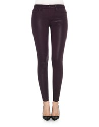 Joe's Jeans Fitted Ankle Length Pants Deep Orchid