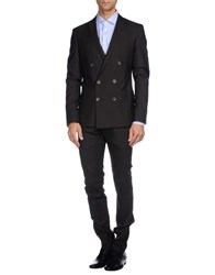 Karl Lagerfeld Suits And Jackets Suits Men Dark Brown