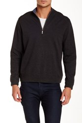 Tommy Bahama 'Flip Side' Reversible Quarter Zip Pullover Brown