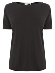 Oasis Utility T Shirt Mid Grey
