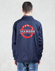 Diamond Supply Co. Tube Logo Coach Jacket