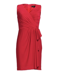Aftershock Dumisani Red Draped Jersey Dress