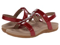 Aetrex Molly Adjustable T Strap Red Women's Dress Sandals