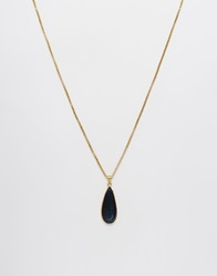 Warehouse Teardrop Pendant Navy