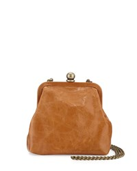 Hobo Libby Mini Crossbody Frame Bag Caramel