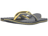 The North Face Base Camp Mini Sedona Sage Grey Goldfinch Yellow Women's Toe Open Shoes