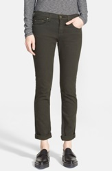 Rag Bone Jean 'The Dre' Slim Fit Boyfriend Jeans Aged Dark Olive
