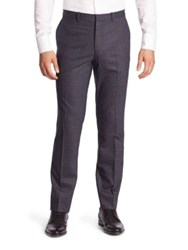 Theory Marlo Wool Blend Trousers Victory Multi