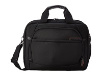 Samsonite Pro 4 Dlx 2 Gusseted Pft Tsa Briefcase Black Briefcase Bags