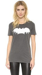 Zoe Karssen Bat Tee Acid Wash Grey