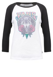 Vans Howlin Rosie Long Sleeved Top White Black