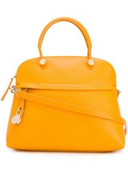 Furla 'Piper' Tote Yellow And Orange
