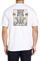 Tommy Bahama Men's Straight Out Of Kona T Shirt White
