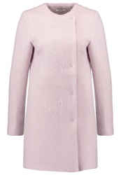 Kiomi Short Coat Violet Ice Mauve