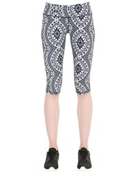 Prana Printed Microfiber Leggings