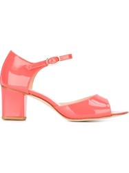 Repetto 'Colette' Sandals Pink And Purple