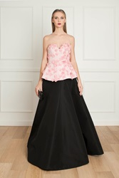Andrew Gn Faille Gown