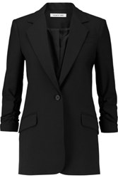 Elizabeth And James Heritage Ponte Blazer Black