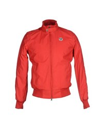 North Sails Coats And Jackets Jackets Men Red