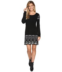 Hatley Sweater Dress Black Alpine Women's Dress