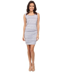 Allen Allen Ruched Dress Flint Women's Dress Beige