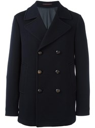 The Gigi Double Breasted Coat Blue