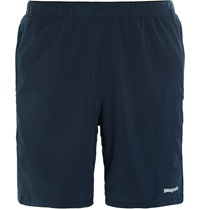 Patagonia Nine Trails Stretch Shell Shorts Blue