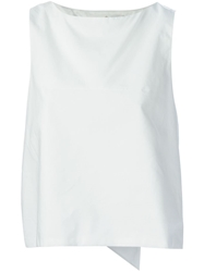 Golden Goose Deluxe Brand 'Annis' Trapeze Tank Top White