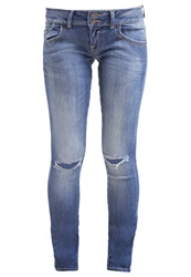Ltb Molly Slim Fit Jeans Doretta Wash Stone Blue