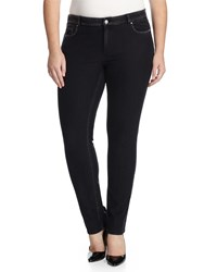 Marina Rinaldi Idrante Slim Denim Jeans Women's Black