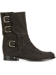 Laurence Dacade 'Rick' Studded Ankle Boots Black
