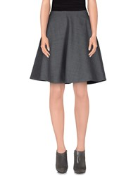 Marc By Marc Jacobs Skirts Knee Length Skirts Women Grey