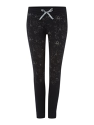 Le Coq Sportif Training Fancy Gambette Tight Black