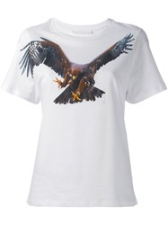 Neil Barrett Eagle Print T Shirt White