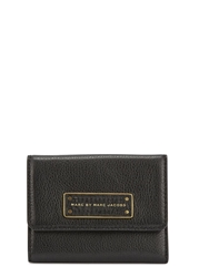 Marc By Marc Jacobs Too Hot To Handle Black Leather Wallet
