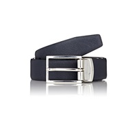 Barneys New York Reversible Belt Navy