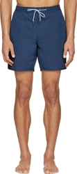 Marc By Marc Jacobs Blue Solid Swim Shorts