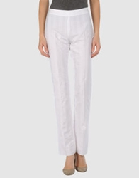 Caractere Casual Pants White