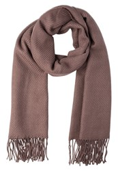 Only Onlastar Scarf Deep Taupe Brown