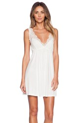Only Hearts Club Venice Tank Chemise White
