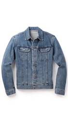 A.P.C. Washed Stretch New Denim Jacket