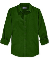 American Rag Men's Solid Long Sleeve Shirt Only At Macy's Forest Night