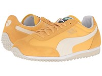 Puma Whirlwind Classic Bright Gold Birch Men's Lace Up Casual Shoes Yellow