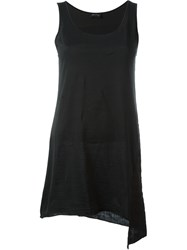 Andrea Ya'aqov Long Tank Top Black