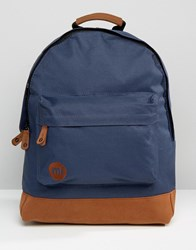 Mi Pac Classic Contrast Backpack In Navy Navy