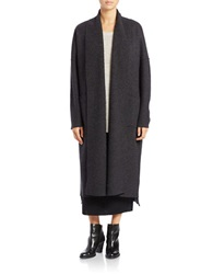 Eileen Fisher Oversized Open Front Cardigan Grey